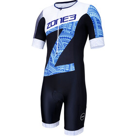 Zone3 Lava SS Aero Trisuit Men hawaii print